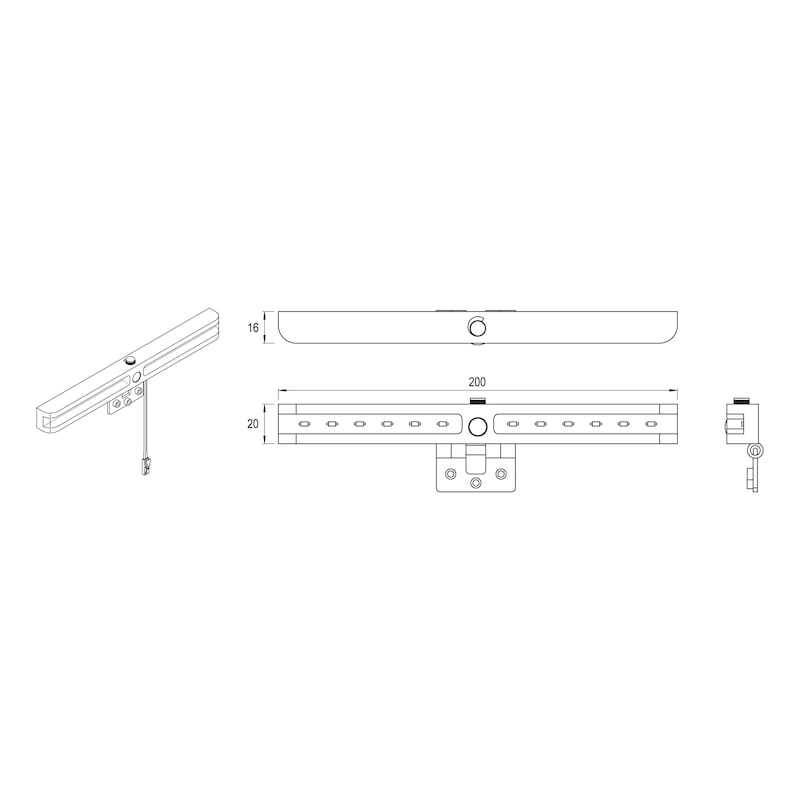 Surface-mounted light ABL-12-1 - 2