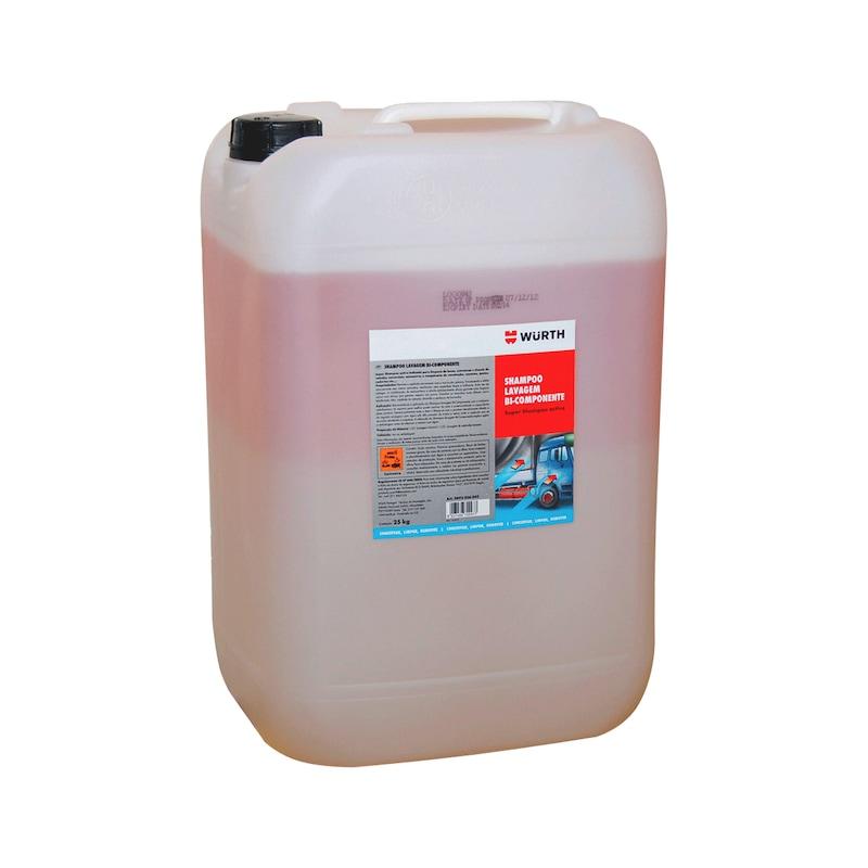 Shampoo lavagem bi-componente - SHAMPOO BI-COMPONENTE 25KG