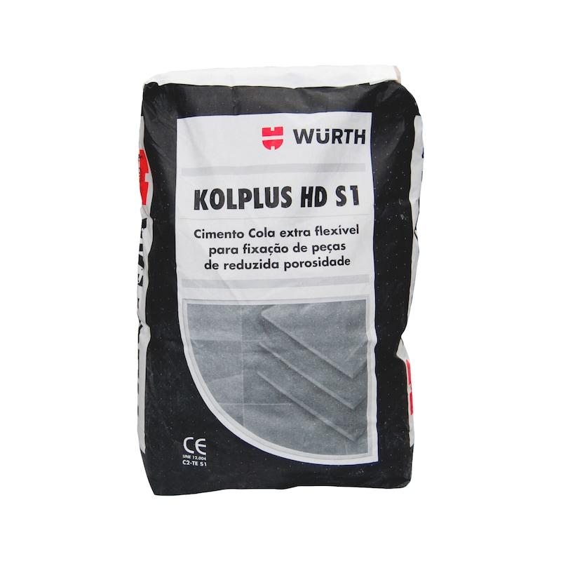 Cimento cola  KOLPLUS HD S1 - KOLPLUS HD S1 CIMENTO COLA
