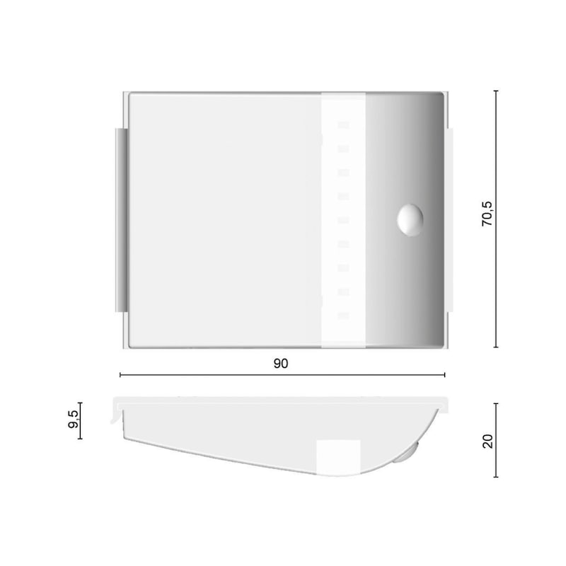 LED-Sensorleuchte SL-12-1 - 2