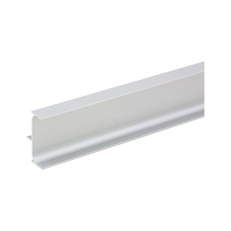 Aluminium Griffmulde C-Form vertikal - 1