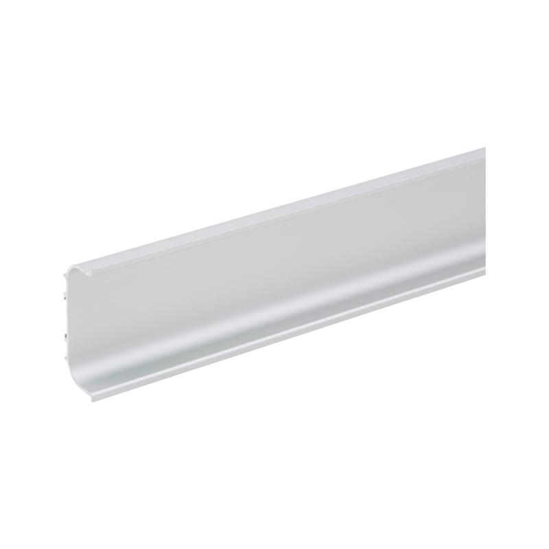 Aluminium Griffmulde C-Form horizontal - 1