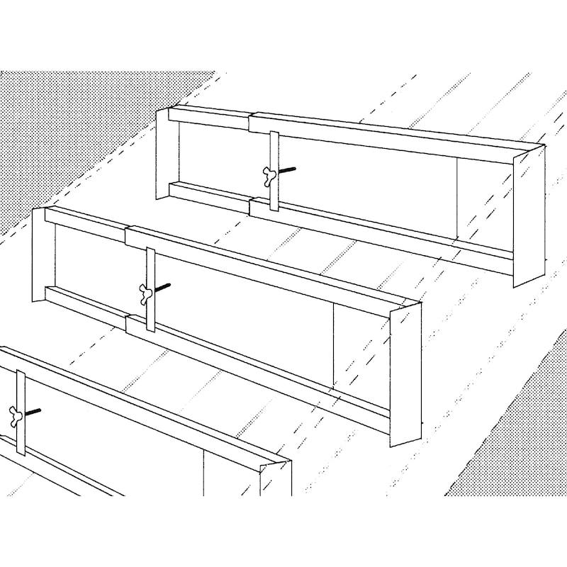 Gradino regolabile per scale - 2