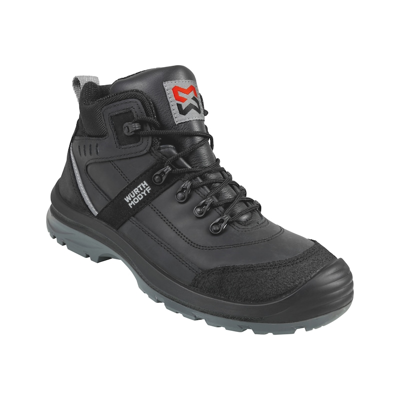 Corvus full-grain leather S3 safety boots - BOOT CORVUS S3 BLACK 40