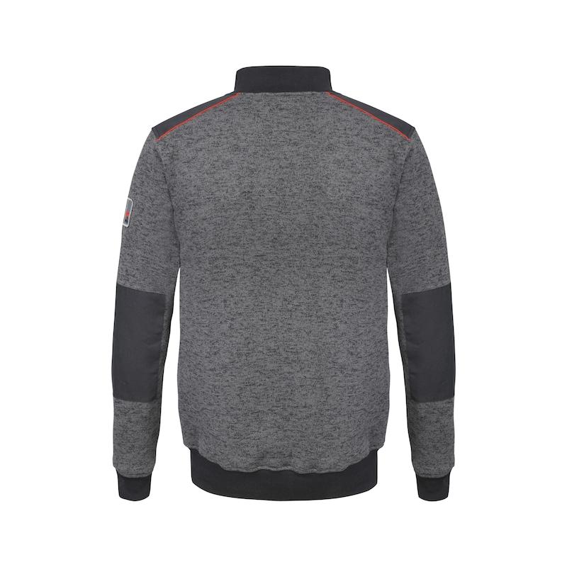 Perseus fleece-sweater - RITSSWEATER PERSUES-ANTR-MT L
