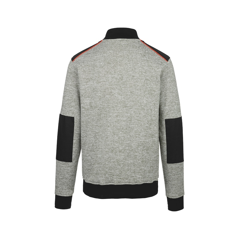 Perseus fleece-sweater - RITSSWEATER PERSUES-GRIJS-MT XXL