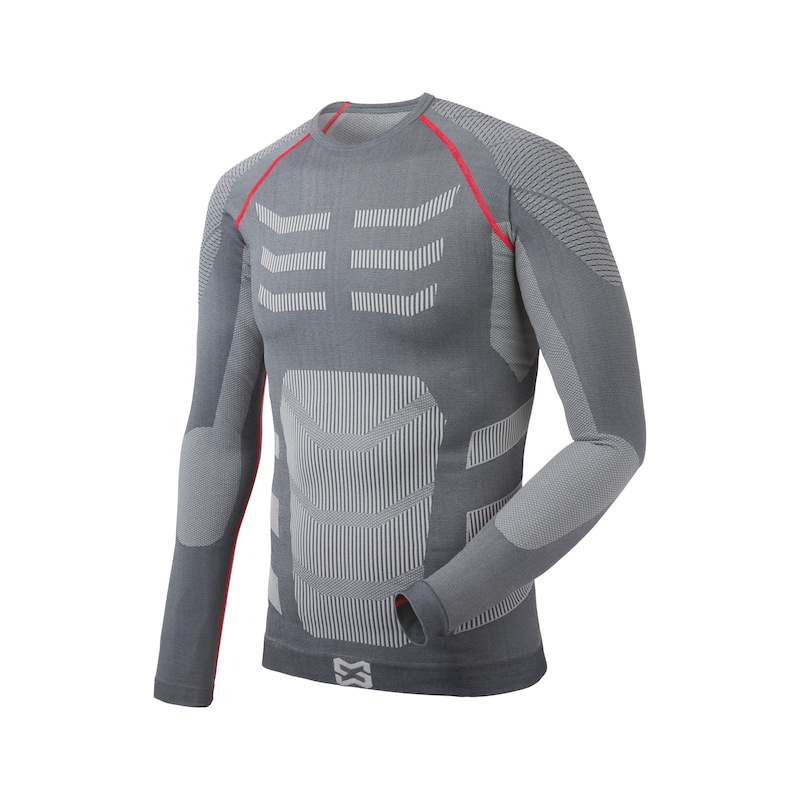 PRO set thermo-ondergoed - THERMO ONDERGOED SET PRO-GRIJS=MT L/XL