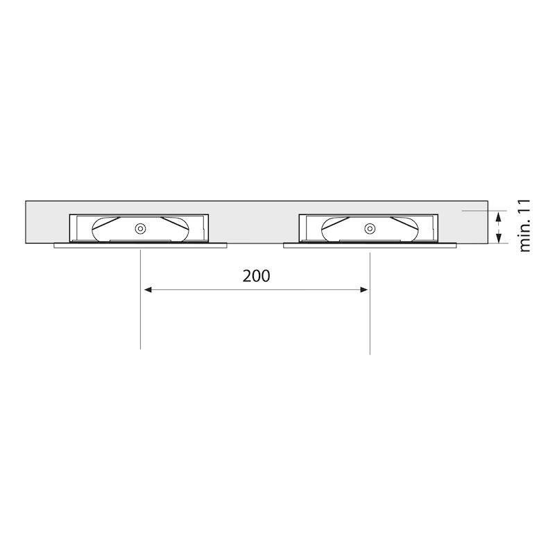 Einbauleuchte EBL-24-1 Set - 3