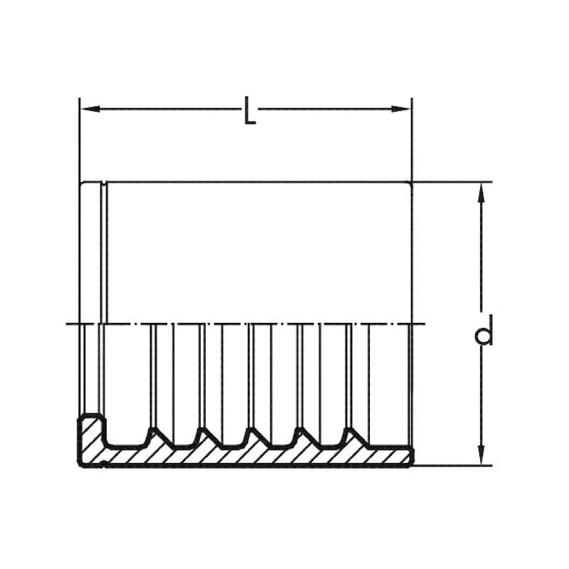 Tubo  LONGLIFE 1SC - 2