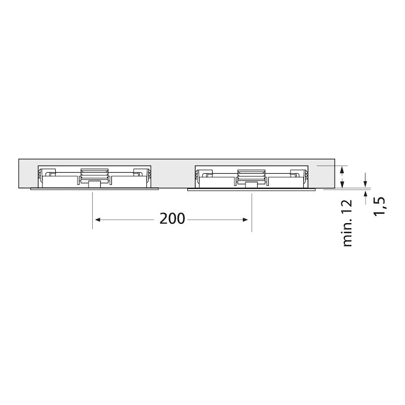 Einbauleuchte EBL-24-2 Set - 3