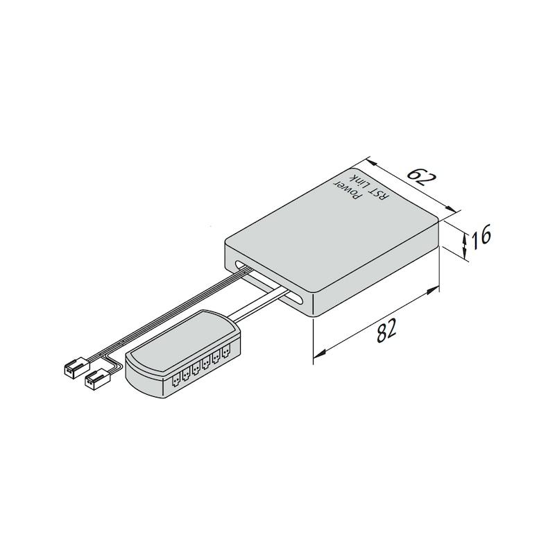 WiFi-Controller - SCHALT-EL-WIFI-CONTR-24V-75W-DIM-12FACH