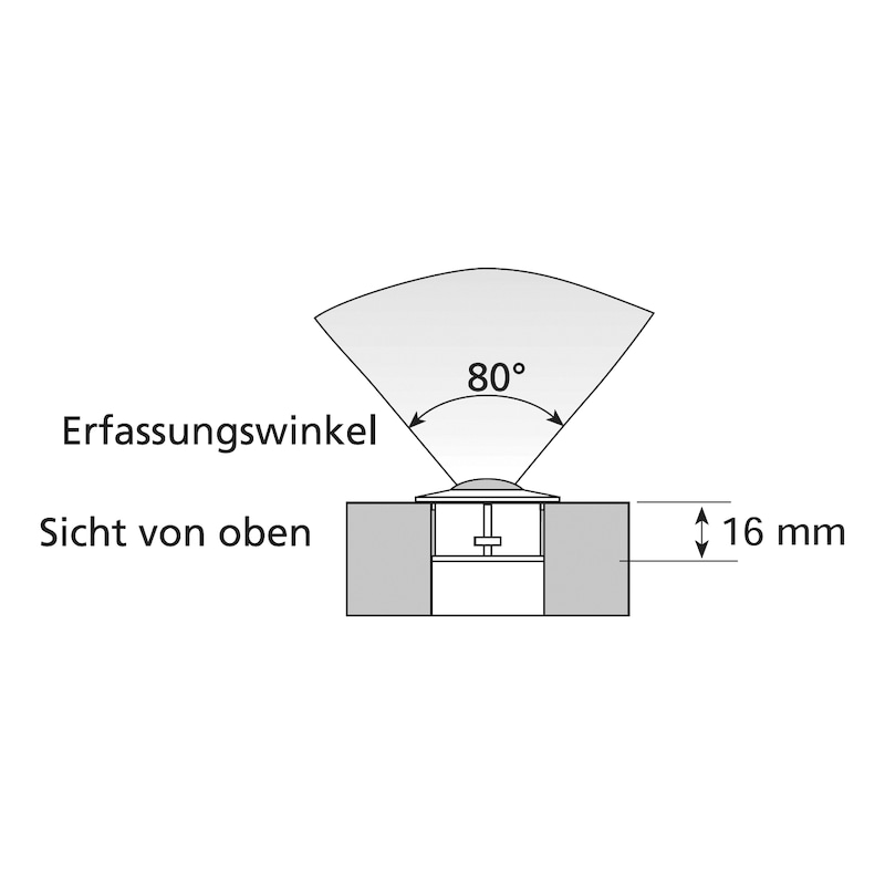 Bewegungsmelder - SCHALT-EL-BEWEGUNGSMELDER-LED-24V