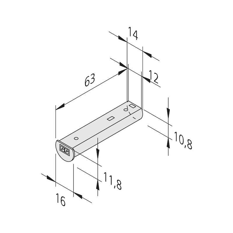 IR-Sensorschalter - SCHALT-EL-BERUEHRUNGSL-IR-SCHALT-24V
