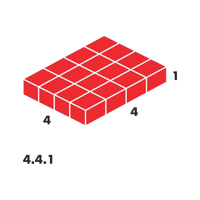 Inserto termoformato per valigetta 4.4.1 - 2