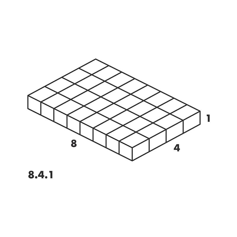 Valigetta sistema 8.4.1 trasparente - VALIG-ORSY-8.4.1-TRASP.