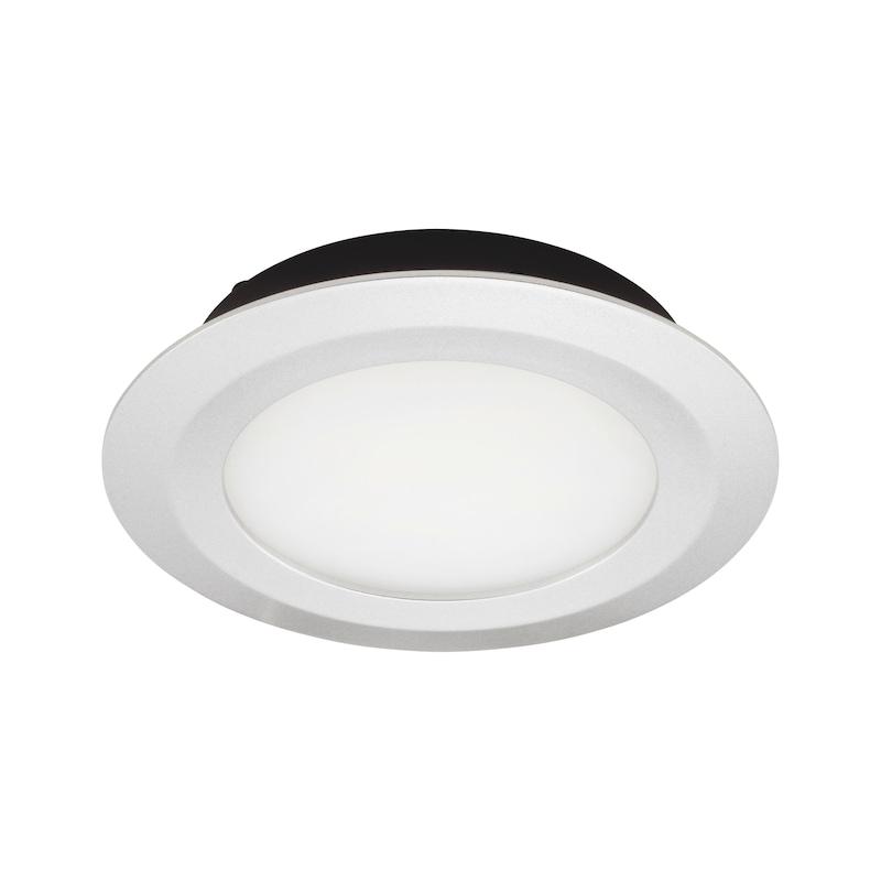 LED-Einbauleuchte EBL-12-10 - LEUCHT-LED-EBL-12-10-WW-ALUF