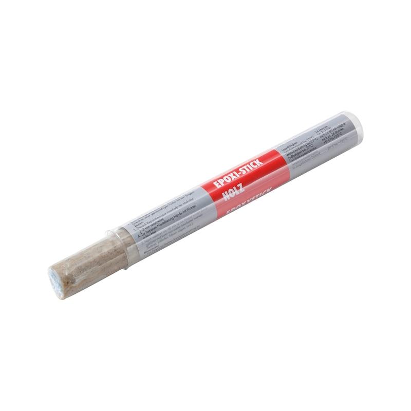 Retuschierkitt Epoxi-Stick Holz - 1