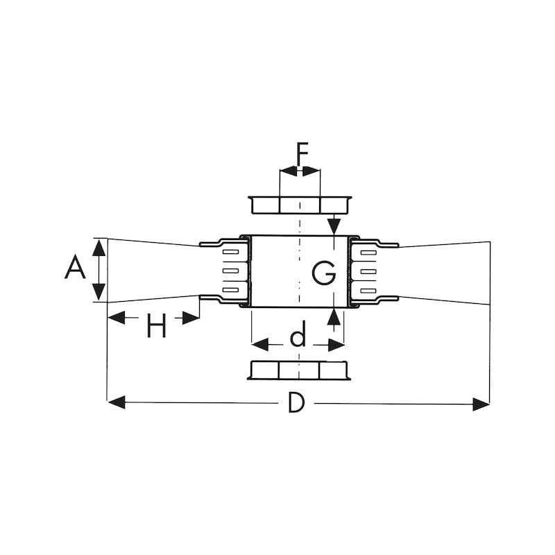 Spazzola circolare per smerigliatrici da banco con filo ondulato in acciaio ad alta densità e lunghezza ridotta - 2