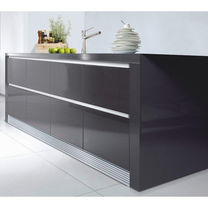 Aluminium Griffmulde C-Form horizontal - 3