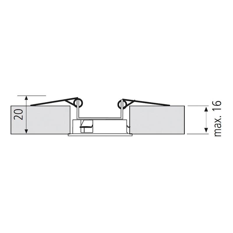 Montagefeder für EBL-24-8 für die Deckenmontage - 2