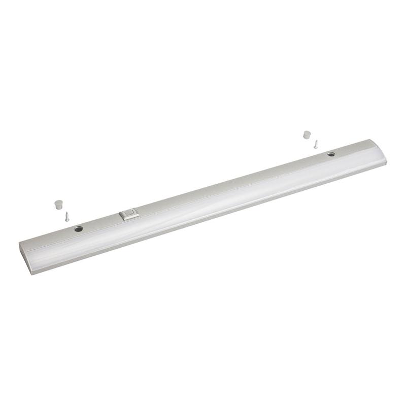 LED-Unterbauleuchte UBL-230-2 zum Anschrauben, mit Schalter - 1