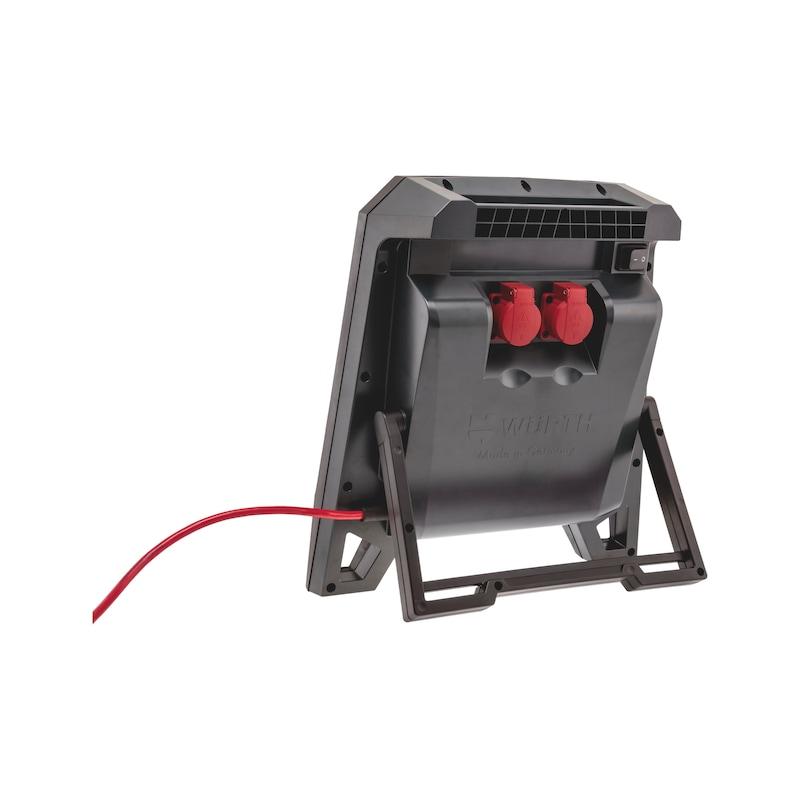 LED-Arbeitsleuchte Powerquad - LEUCHT-LED-(POWERQUAD-L)-2STECKDOSEN