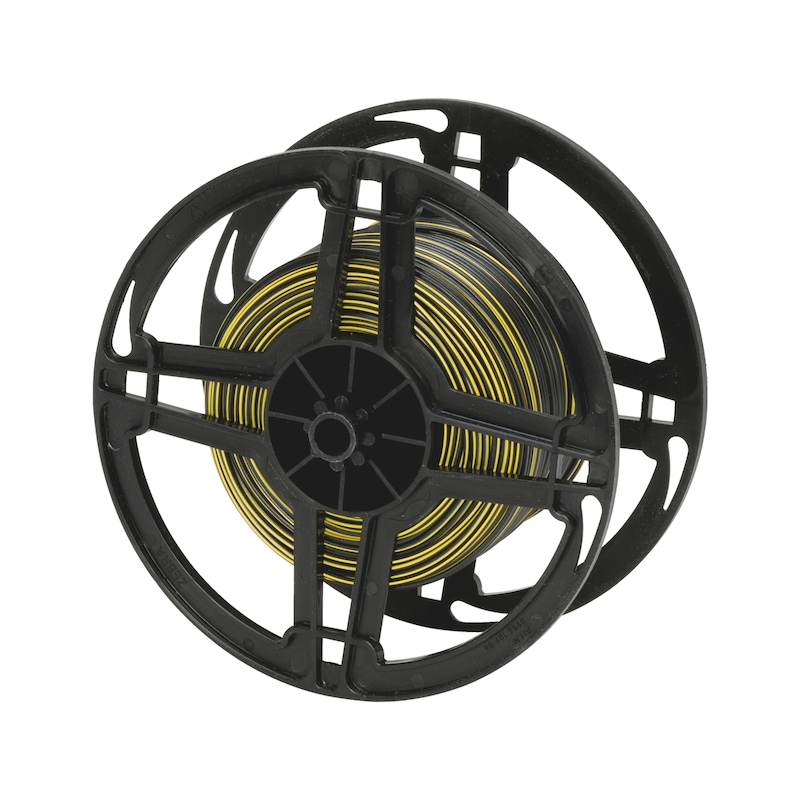 Vehicle line FLRY - VEHCBL-FLRY-REEL-(BLACK-YELLOW)-1,0SMM