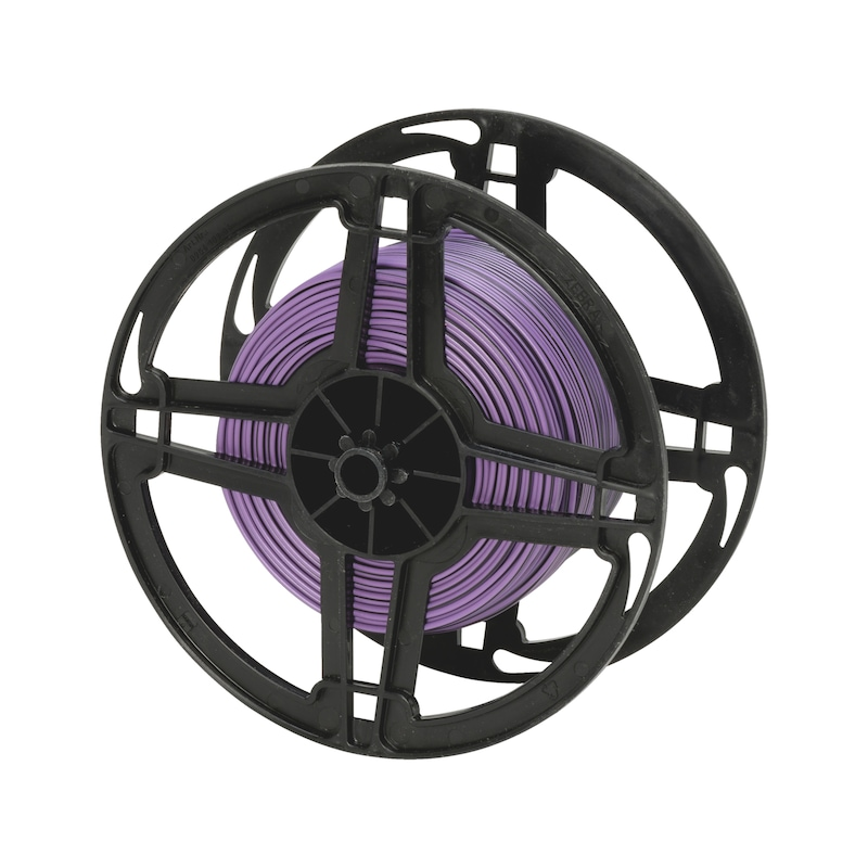 Vehicle line FLRY - VEHCBL-FLRY-REEL-(VIOLET-BLACK)-1,0SMM