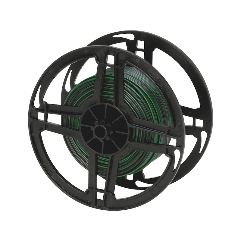 Vehicle line FLRY - VEHCBL-FLRY-REEL-(BLACK-GREEN)-0,75SMM