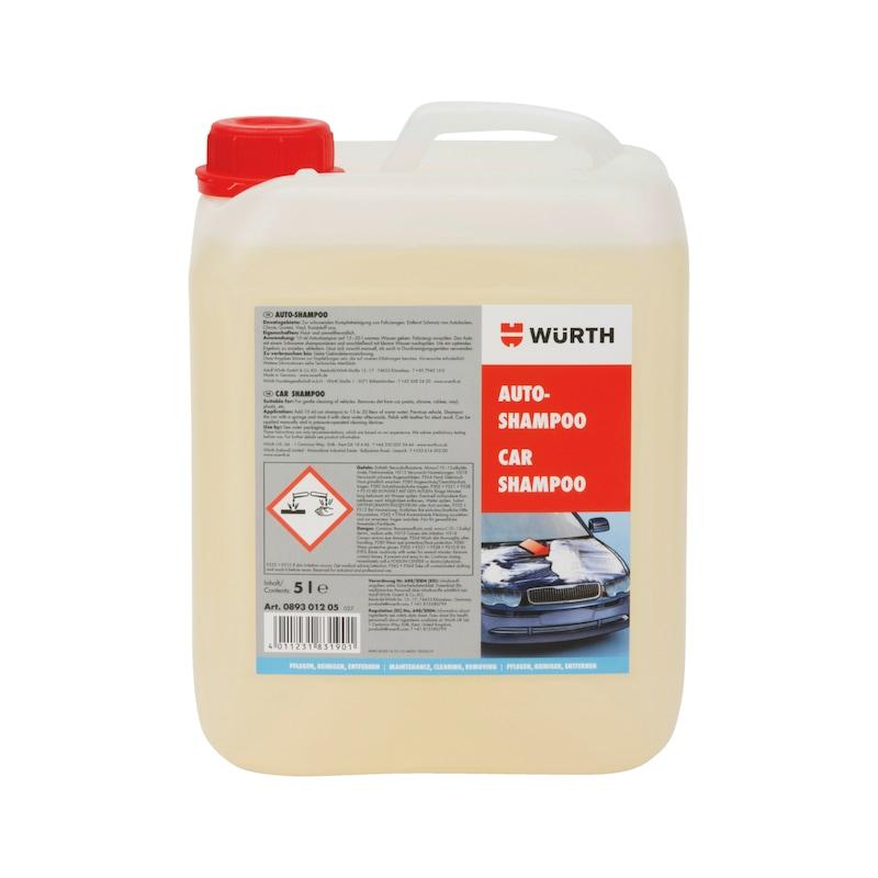 Shampoo auto - SHAMPOO AUTO LAVAGEM MANUAL 5L