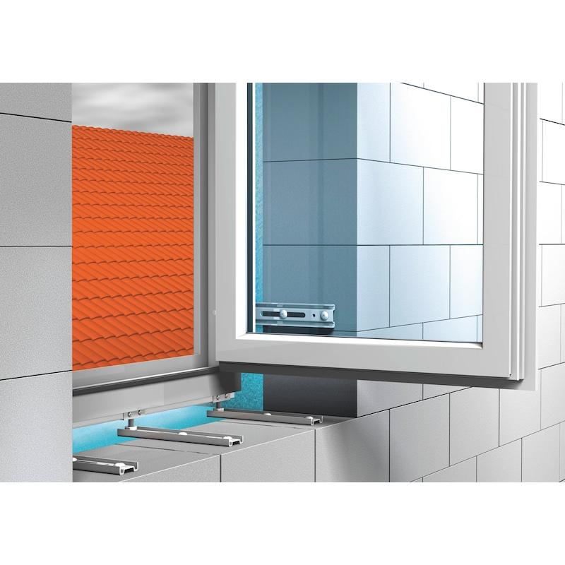 Window installation bracket with height adjustment bracket JB-DK - 4
