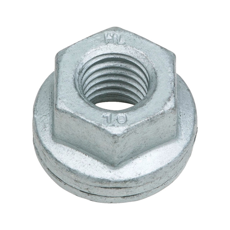 Keil- und Radsicherungsmutter - MU-6KT-KEILSI-SW32-(DPE)-M22X1,5