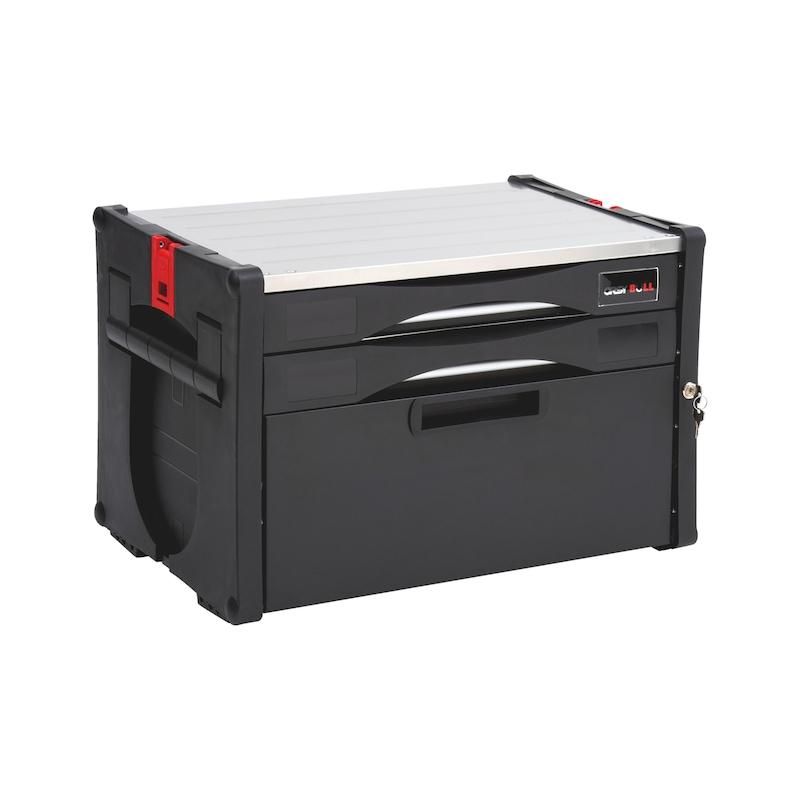 ORSY<SUP>®</SUP>BULL-Kombibox Frontlader Serie 5 - SYSBOX-KOMBI-FRNTLDR-2SL-5-H400