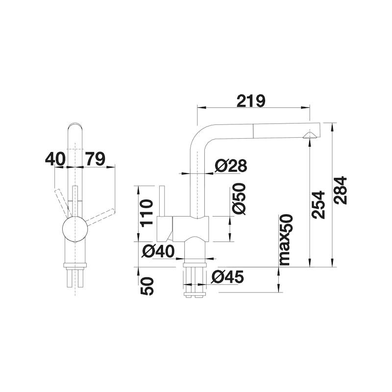 Armatur Blanco Linus-S Vario - 2