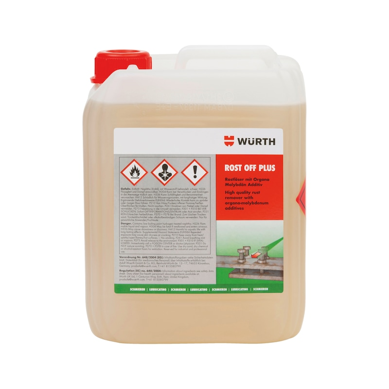 Rust remover Rost-Off Plus - PENTOIL-(ROST-OFF-PLUS)-CANISTER-5LTR
