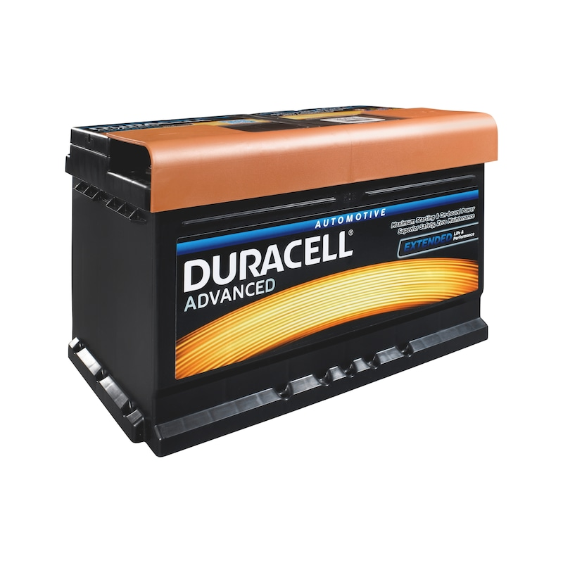 Starterbatterie DURACELL<SUP>®</SUP> ADVANCED  - STARTBATT-DURACELL-ADVANCED-DA74