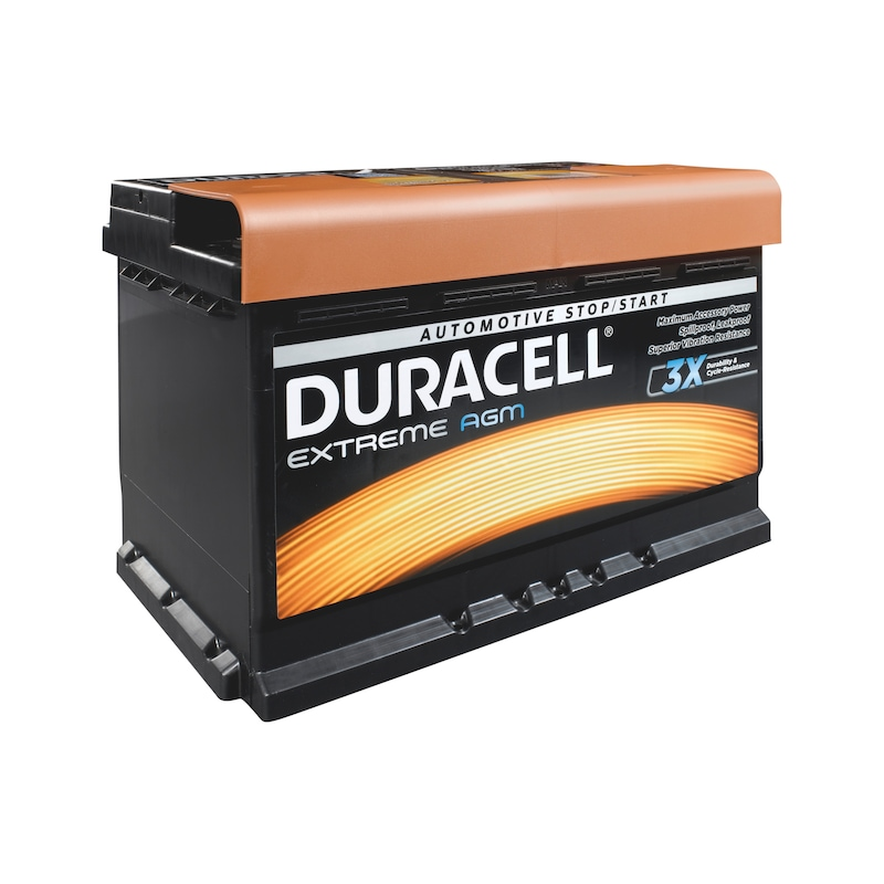 Starterbatterie DURACELL<SUP>®</SUP> EXTREME AGM - 1