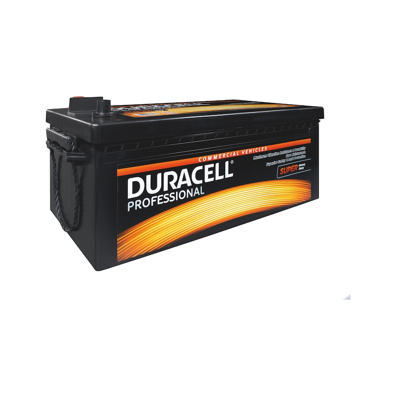 Starterbatterie DURACELL<SUP>®</SUP> PROFESSIONAL SHD