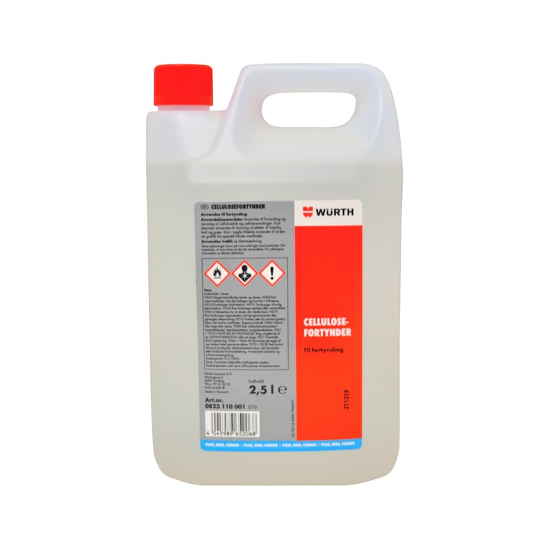Cellulosefortynder - Cellulose Fortynder, 2,5 l