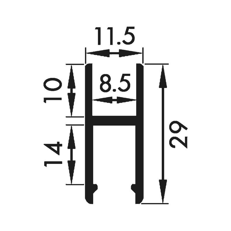 Laufschuh-Schiene - 2