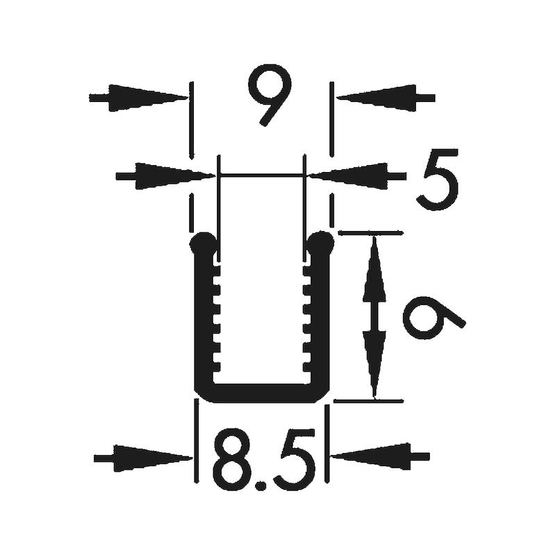 Glasklemmprofil - 2