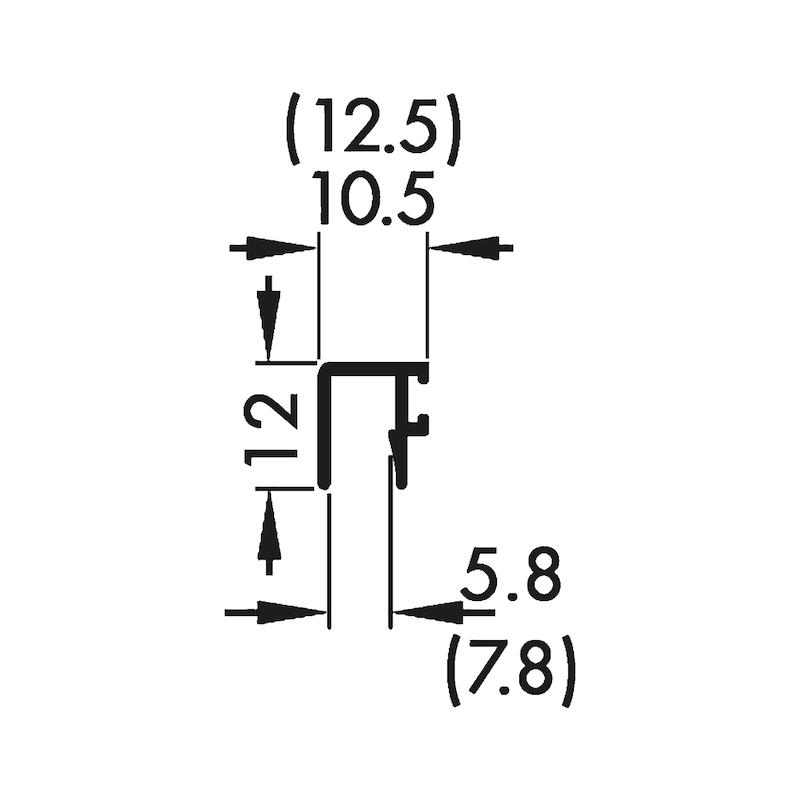 Staubschutzleiste - 2