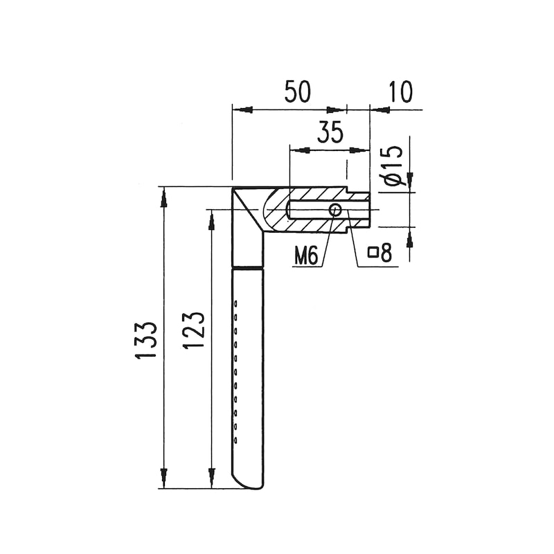 Türdrücker  ZD 22 Rosettengarnitur - 2