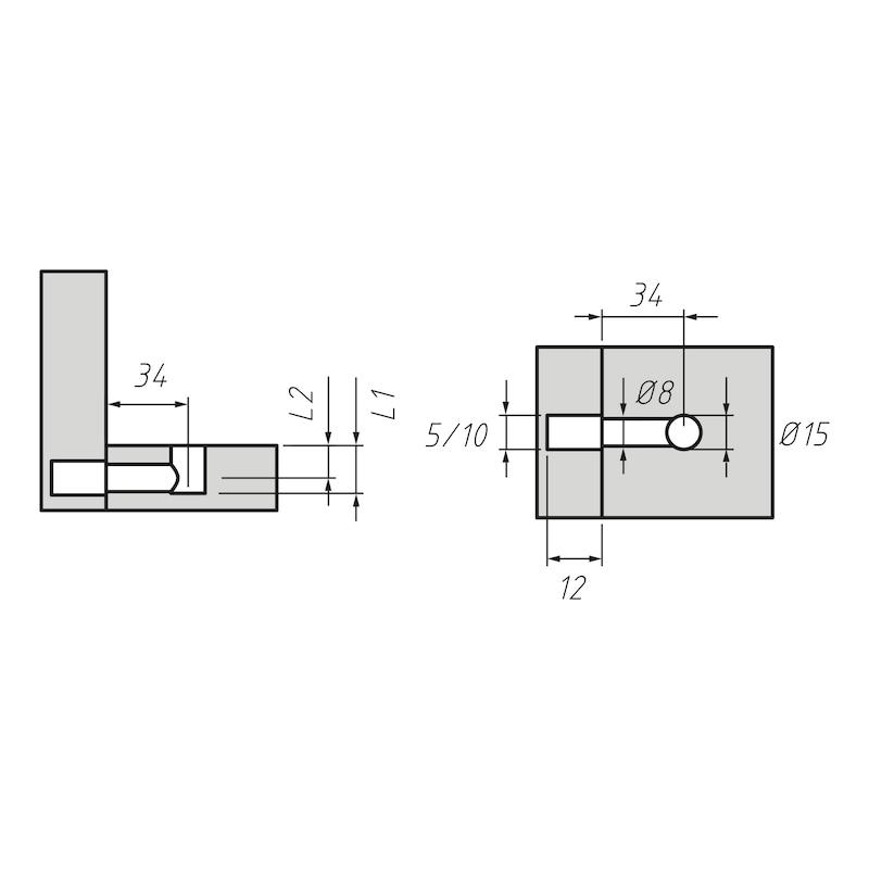 Möbel-Verbinder SE 15 - 3