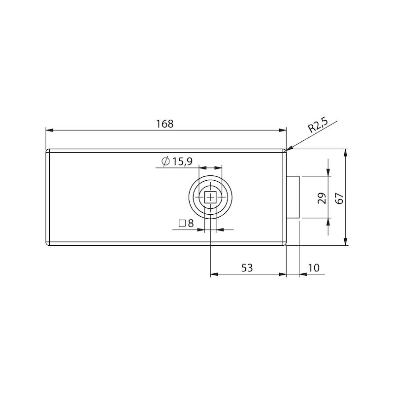 Glastür-Set Standard Form B - 2