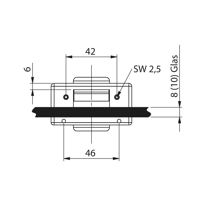 Glastür-Set Standard Form B - 6
