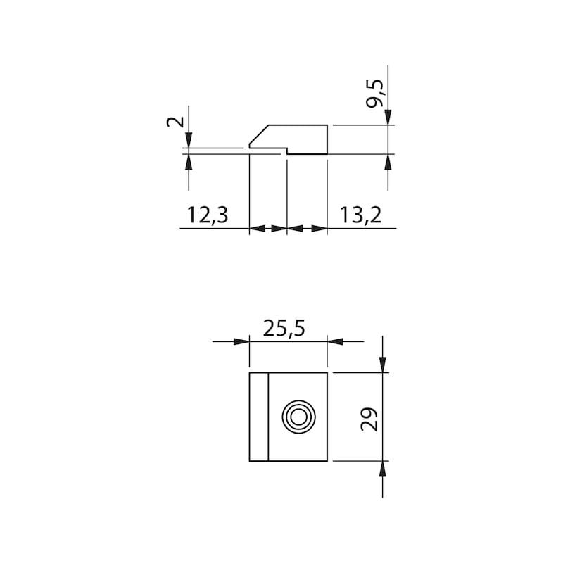 Glastür-Set Standard Form B - 7