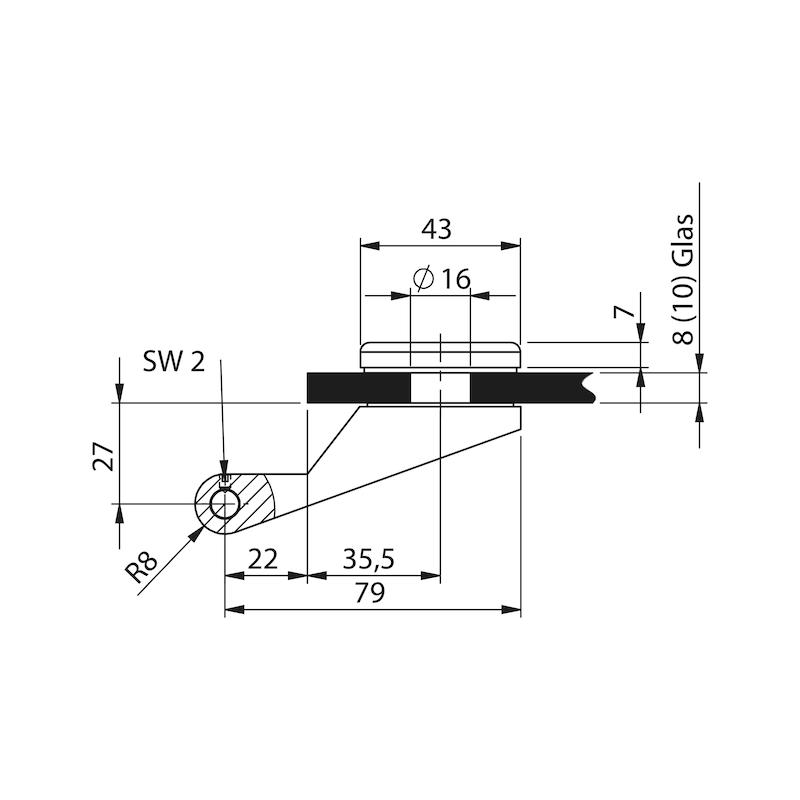 10 Wurth German Steel Strap Locks