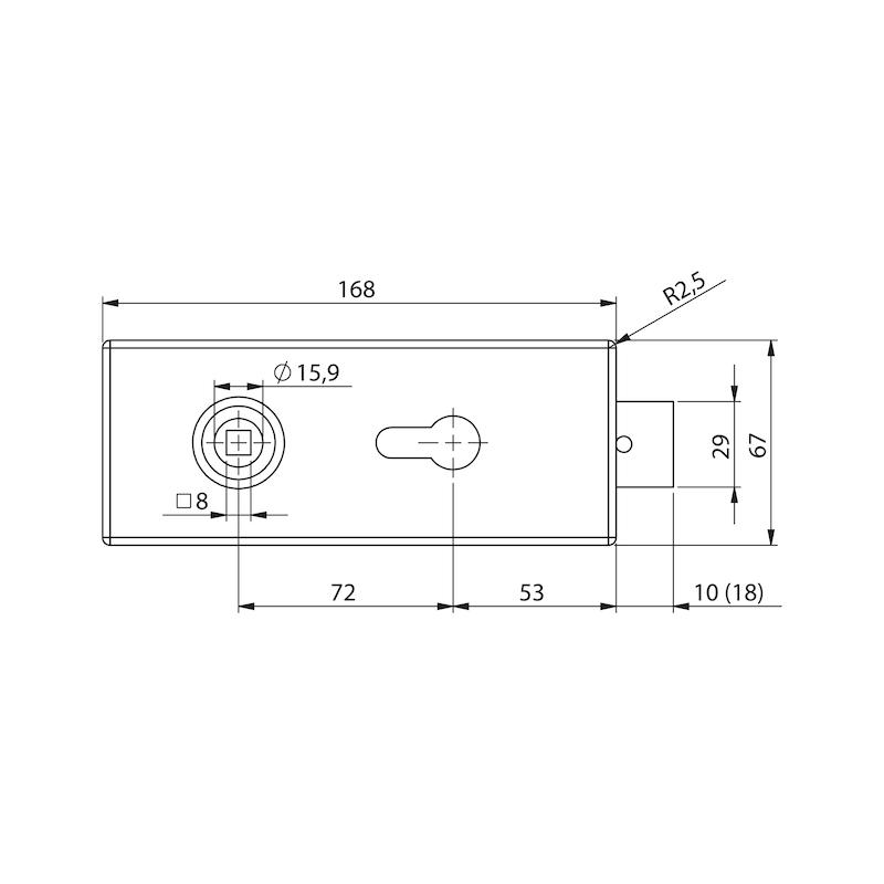 Glastür-Set Standard Form B - 4