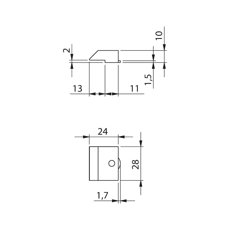 Glastür-Set Premium Form B - 9